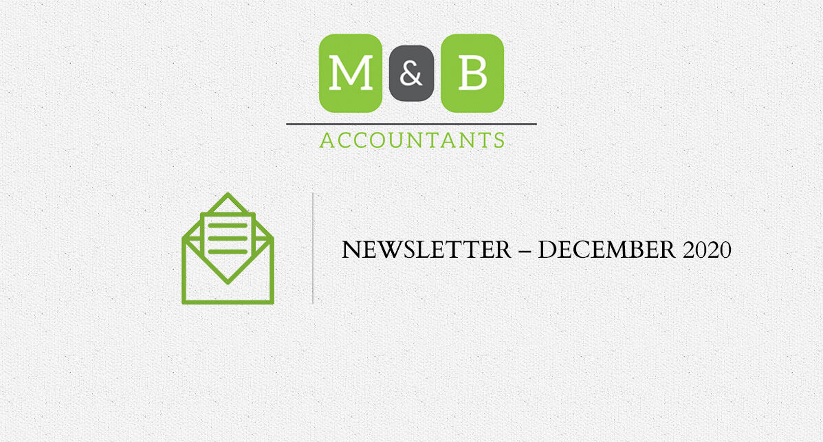 M + B Accountants - December 2020 Newsletter