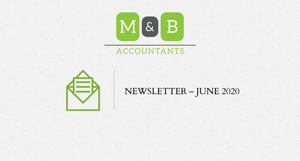M + B Accountants - June 2020 Newsletter